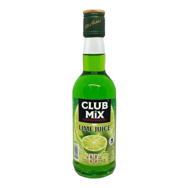 Club Mix Lime Juice Cordial 350ml - Boozy.ph
