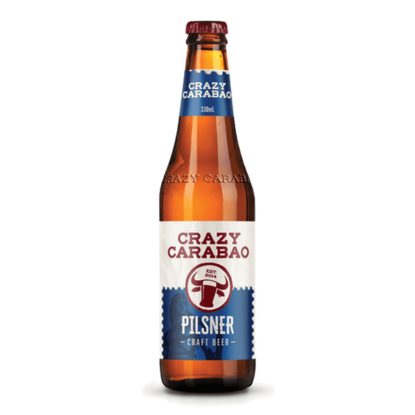 Crazy Carabao Pilsner 330ml (Freebie)