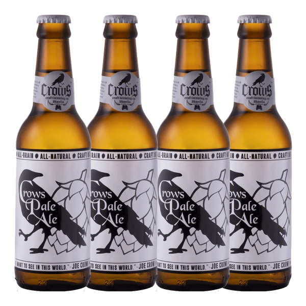Crows Pale Ale 330ml Bundle of 4