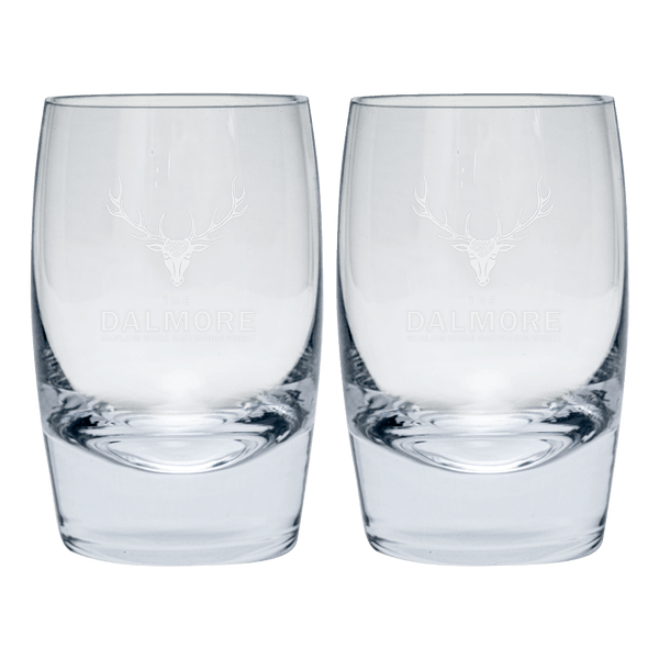 2 The Dalmore Tumbler Glasses (Freebie) - Boozy.ph