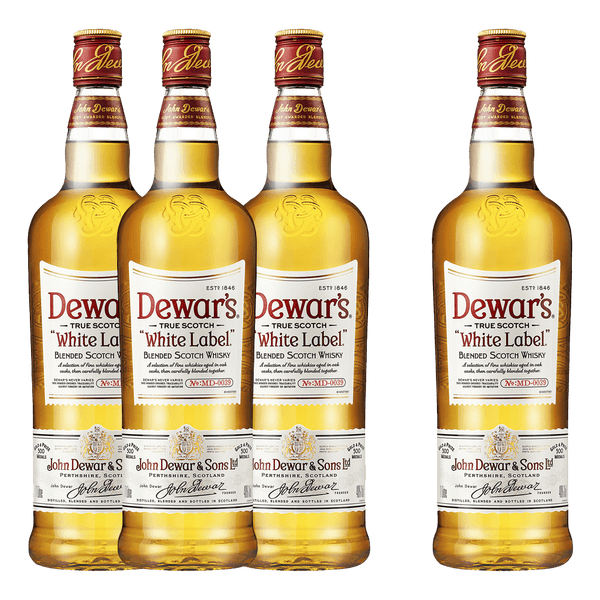 Dewar's White Label 750ml Bundle (Buy 3, Get 1 FREE)