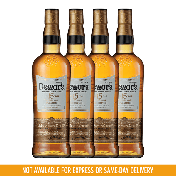 Dewar's 15YO Bundle 4 Bottles