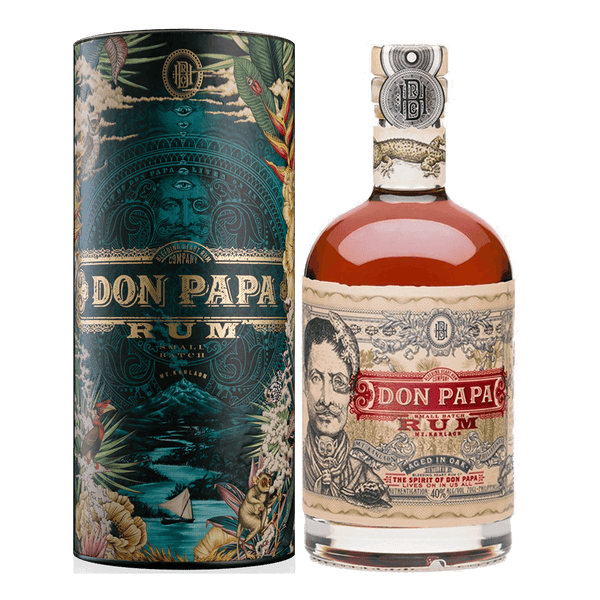 Don Papa Rum 7yo 700ml Limited Edition Arcane Jungle Canister