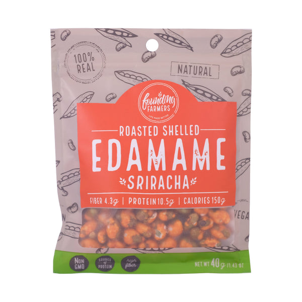 Founding Farmers Roasted Edamame Sriracha - Boozy.ph