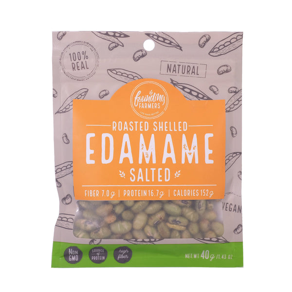 Founding Farmers Roasted Edamame Salted - Boozy.ph