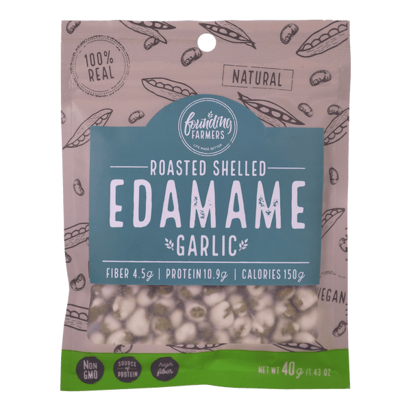 Founding Farmers Roasted Edamame Garlic - Boozy.ph