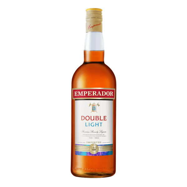 Emperador Double Light 1L - Boozy.ph