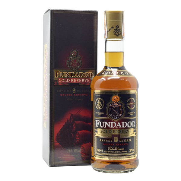 Fundador Gold Reserve 700ml - Boozy.ph