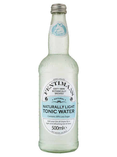 Fentimans Naturally Light Tonic Water Mixers 500ml