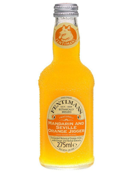 Fentimans Mandarin and Seville Orange Mixers 275ml