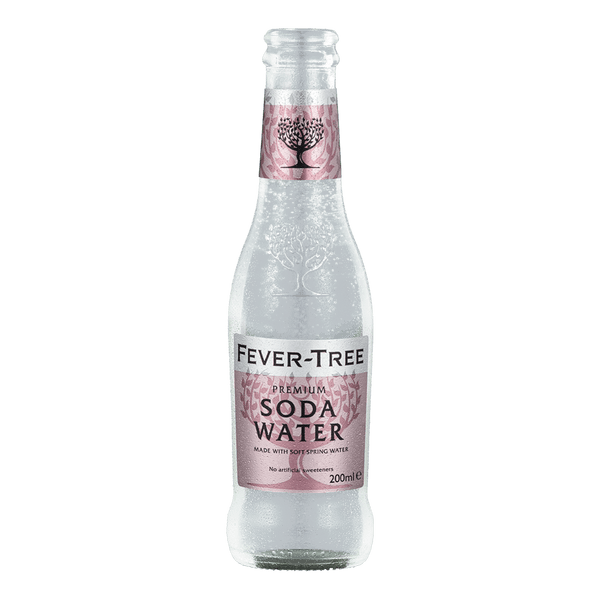 Fever Tree Soda Water 200ml - Boozy.ph