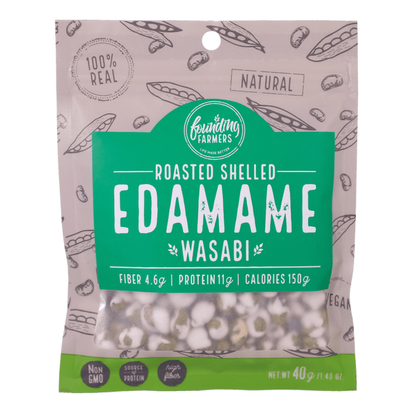 Founding Farmers Roasted Edamame Wasabi - Boozy.ph