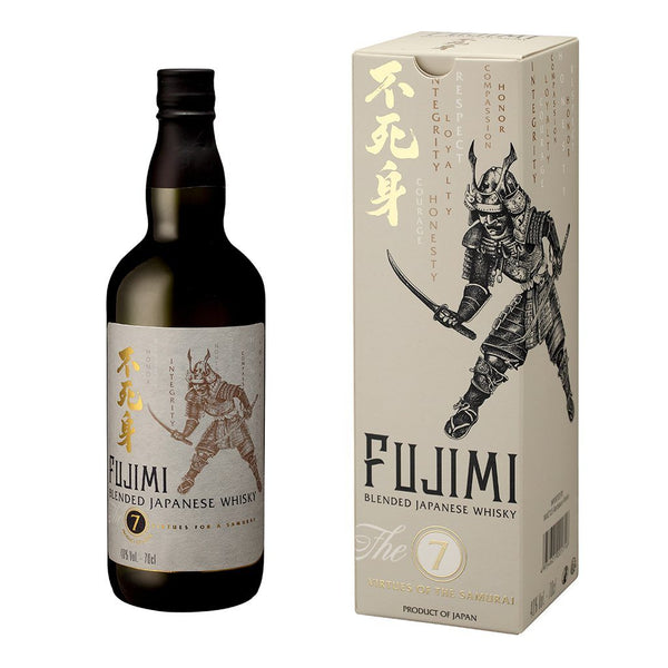 Fujimi Japanese Whisky 700ml - Boozy.ph
