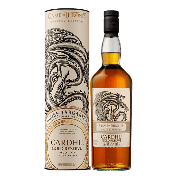 Game of Thrones – Cardhu Gold Reserve 750ml