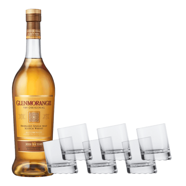 Glenmorangie 10 700ml + Schott Zwiesel Whisky Glass Bundle