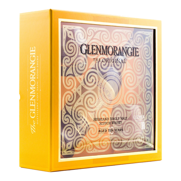 Glenmorangie 10yo 700ml with 2 Complimentary Glasses