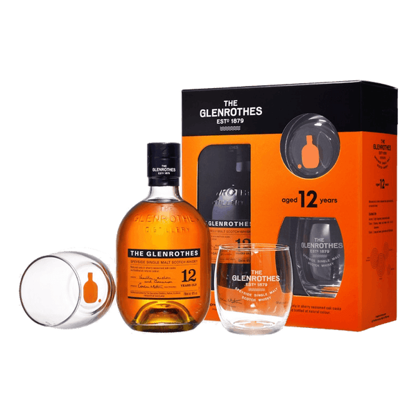 Glenrothes 12yo with 2 FREE Glasses