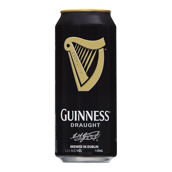 Guinness Draught Can 440ml - Boozy.ph