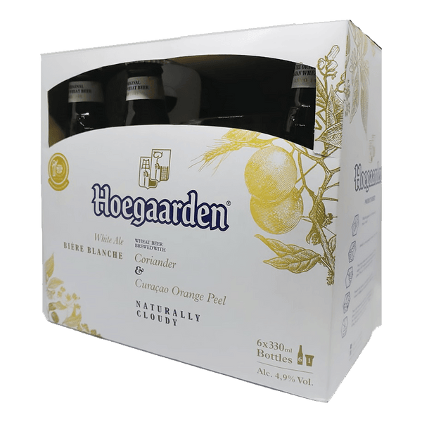 Hoegaarden White 6-Pack with Free Glass - Boozy.ph