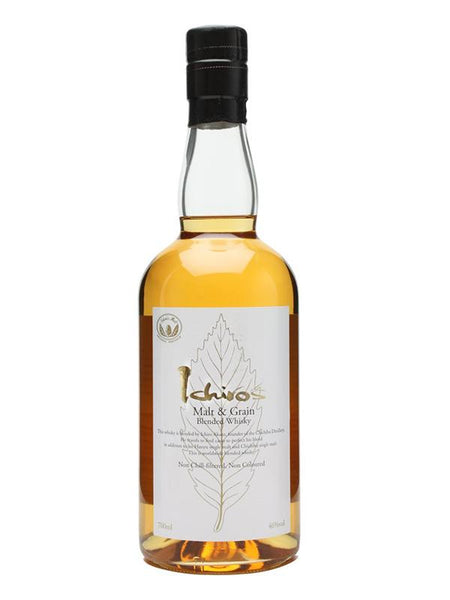 Ichiro's Malt and Grain Blended Whisky 700ml - Boozy.ph