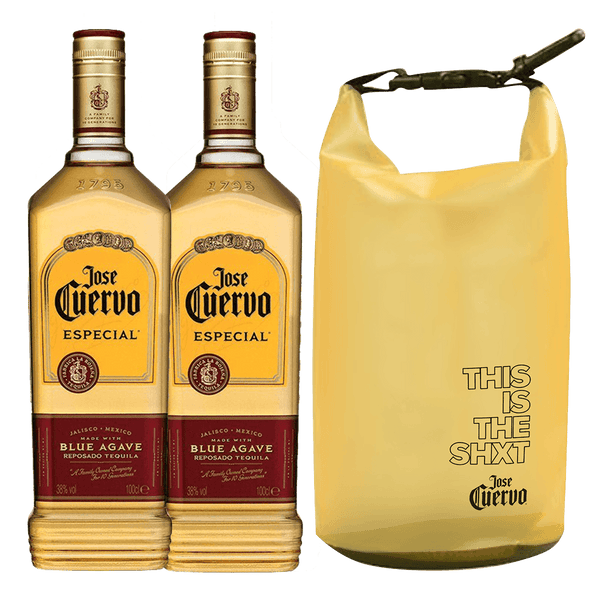 2 Jose Cuervo Gold 1L + FREE Dry bag