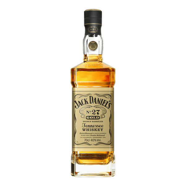 Jack Daniel's No. 27 Gold Double Barreled Tennessee Whiskey 700ml - Boozy.ph