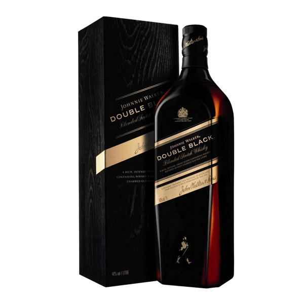 Johnnie Walker Double Black 1L - Boozy.ph