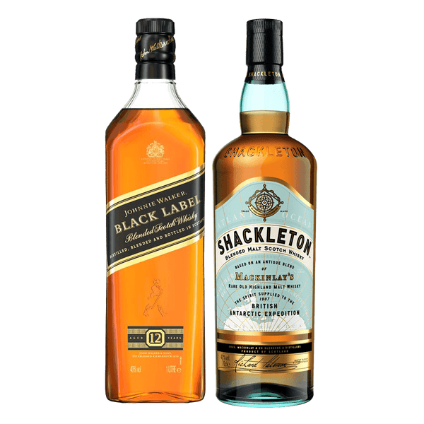 Shackleton 700ml + Johnnie Walker Black Label 1L Bundle