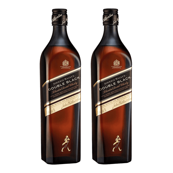 Johnnie Walker Double Black 1L Bundle of 2