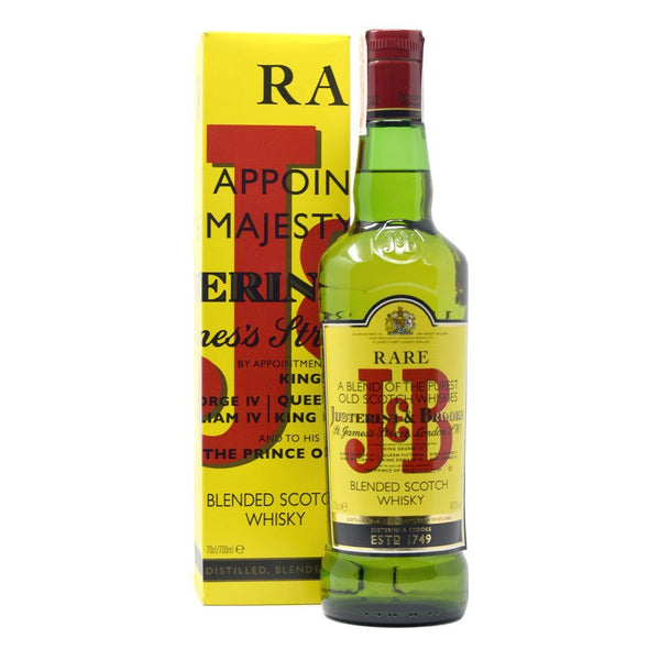 J&B Rare 700ml Blended Whisky