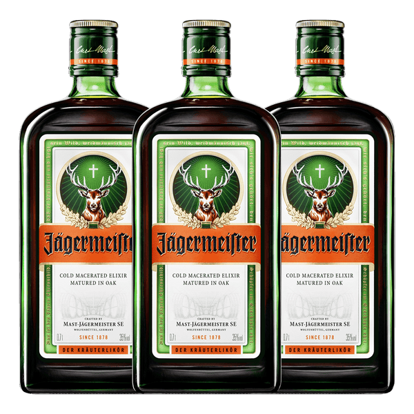 Jagermeister 700ml Bundle of 3 - Boozy.ph