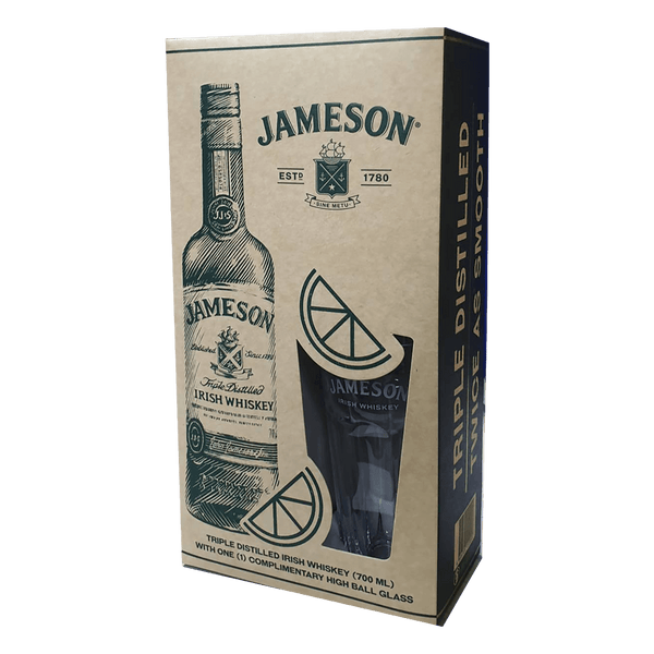 Jameson 700ml with 1 Complimentary Highball