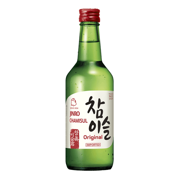 Jinro Chamisul Soju Classic 360ml bottle - Boozy.ph