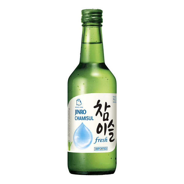 Jinro Chamisul Soju Fresh 360ml bottle - Boozy.ph