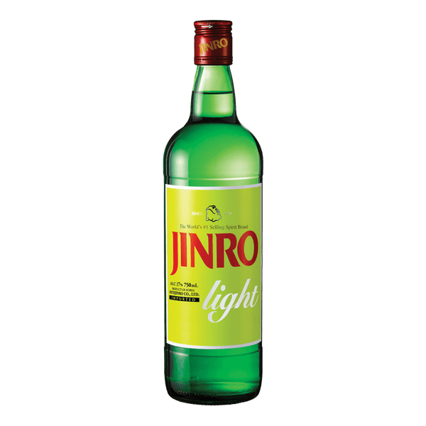 Jinro Light Soju 750ml - Boozy.ph