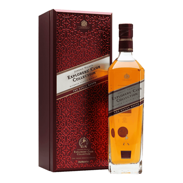 Johnnie Walker C.C. Explorers Royal Route 750ml - Boozy.ph