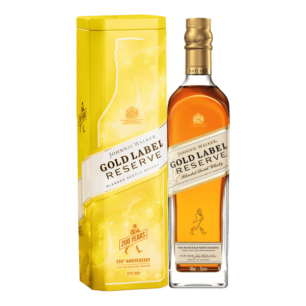 Johnnie Walker Gold Reserve 750ml with Tin Can