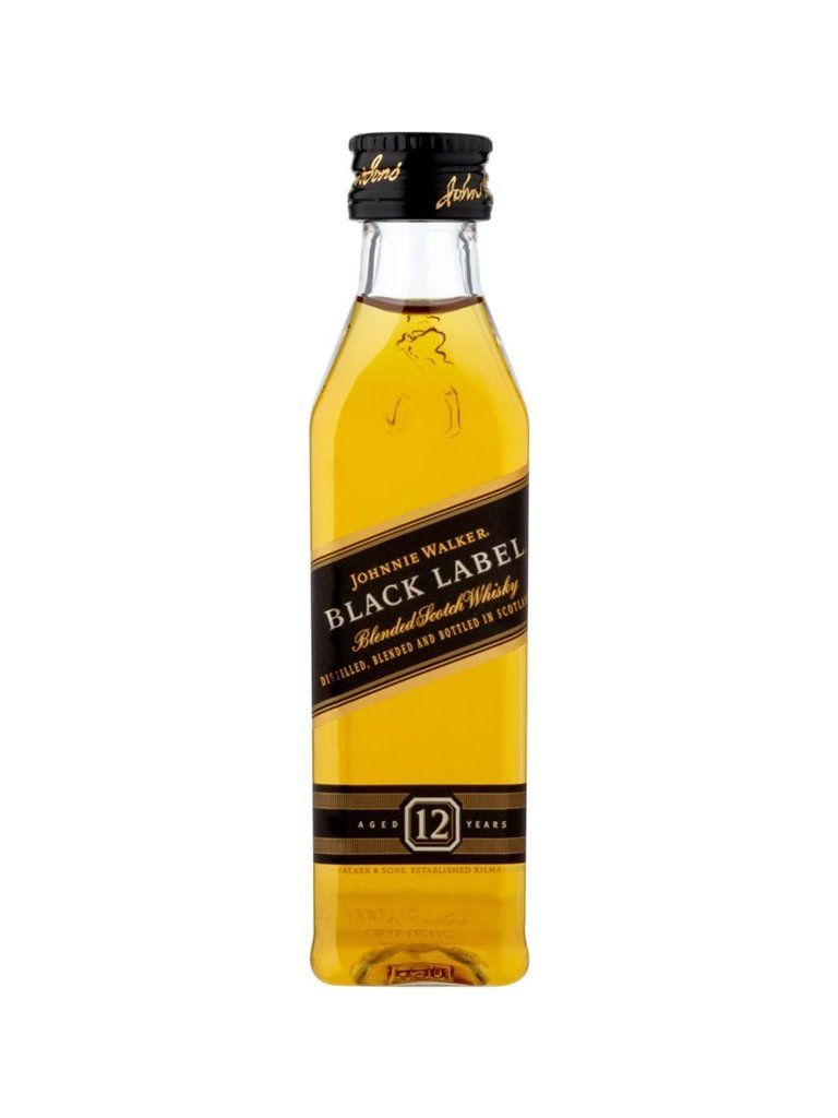 Black Label Price >> Johnnie Walker Black Label Mini 50ml