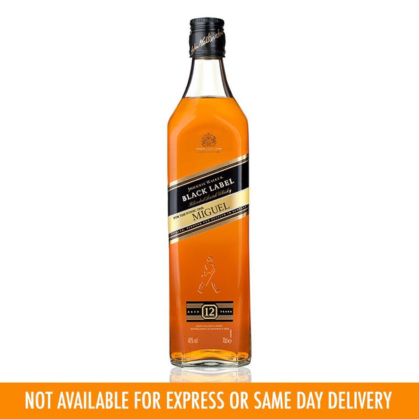 Johnnie Walker Black Label 1L Labeling