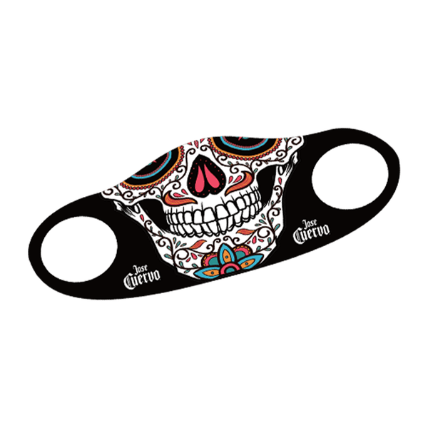 "Jose Cuervo ""Day of the Dead"" Face Mask (Freebie)"
