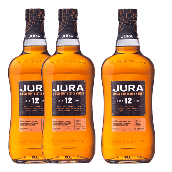 Jura 12yo 700ml (Buy 2, Get 1 FREE)