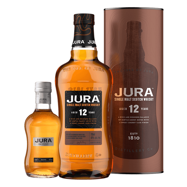 Jura 12 YO 700ml with mini Jura 200ml