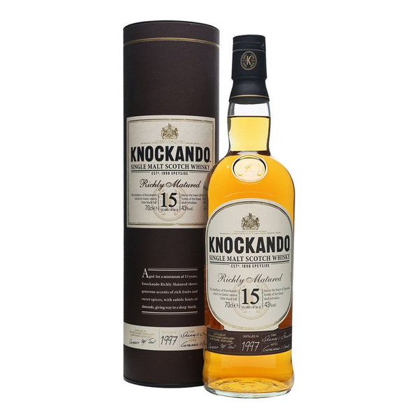 Knockando 15yo 700ml Whisky Single Malt