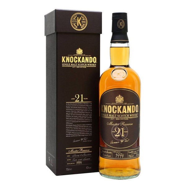 Knockando 21yo Master Reserve 700ml - Boozy.ph