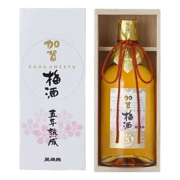 Kaga Umeshu 5 Years 720ml - Boozy.ph
