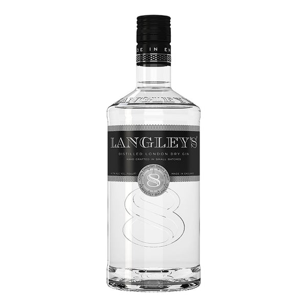 Langley's No. 8 Gin 700ml - Boozy.ph