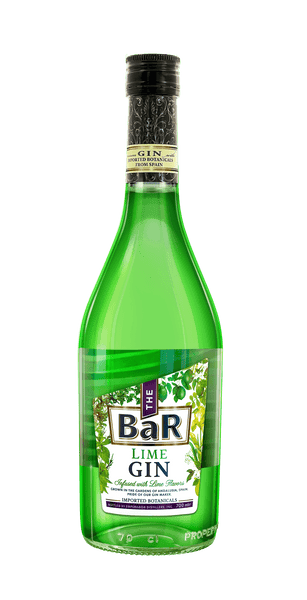 The BaR Lime Gin 700ml