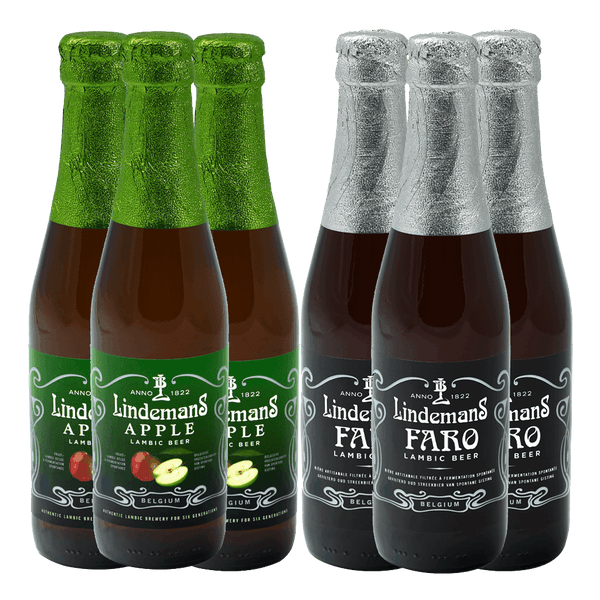 3 Lindemans Apple + FREE 3 Lindemans Faro