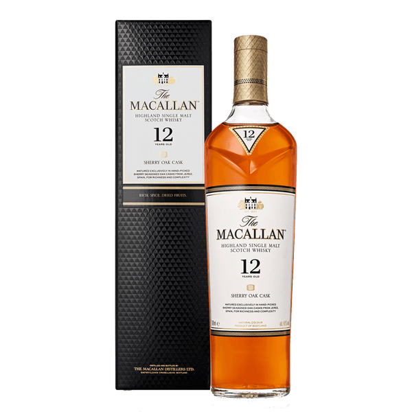 Macallan 12yo Sherry Oak 700ml - Boozy.ph