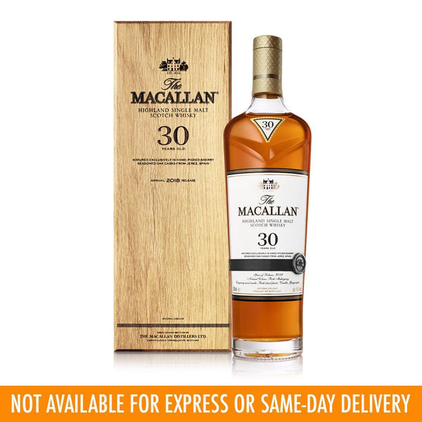 Macallan 30yo 700ml - Boozy.ph